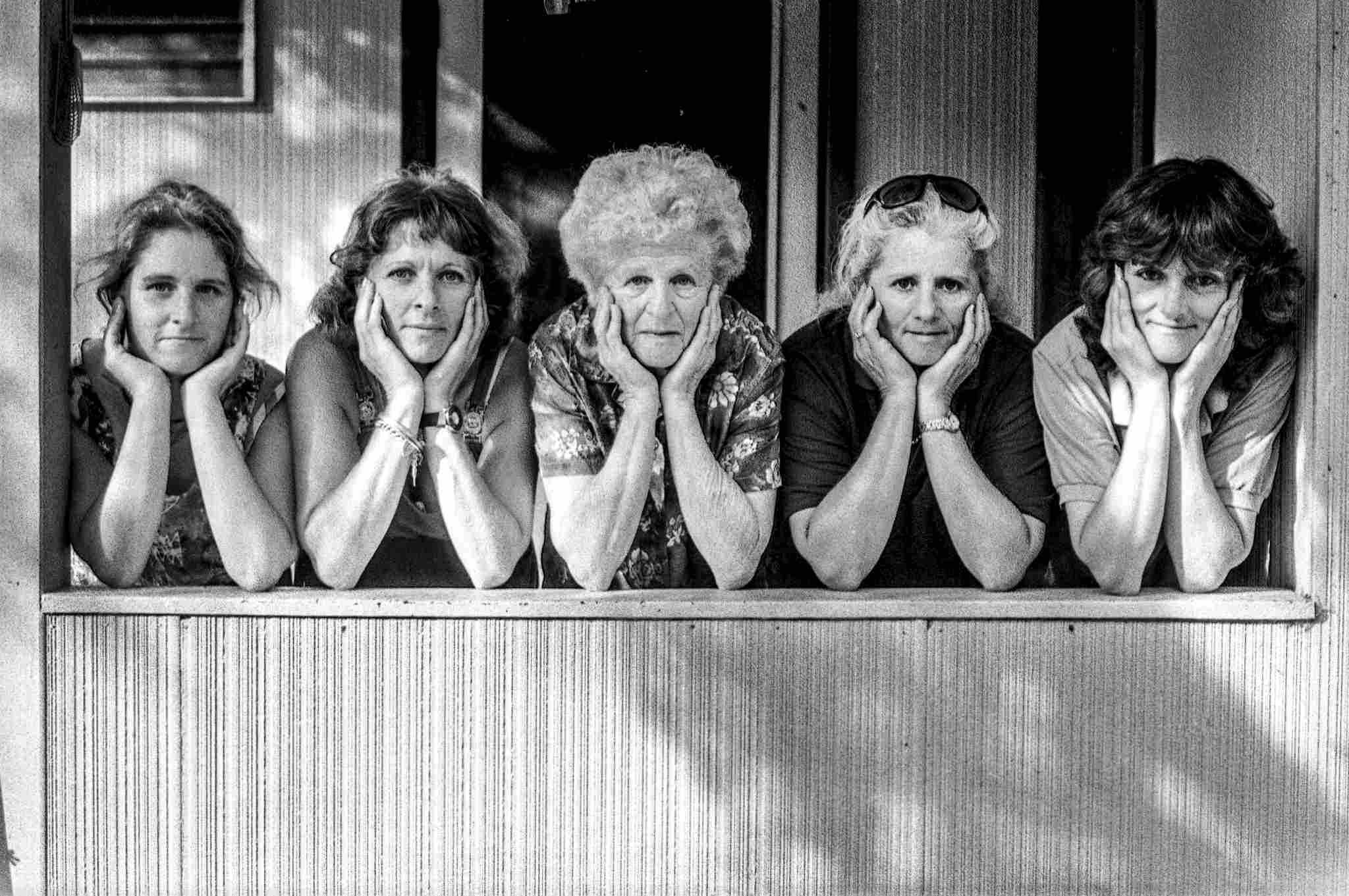 Mothers and Daughters exhibition, Mallacoota 1996. Hazle matthew