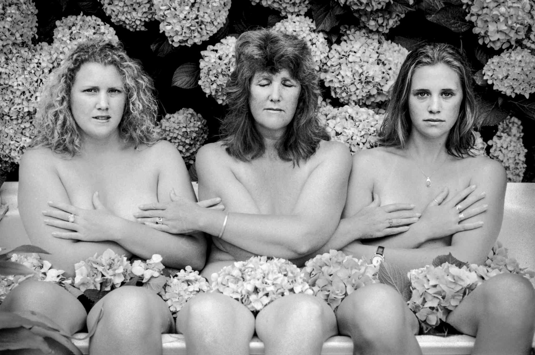 Mothers and Daughters exhibition, Mallacoota 1996. Gail Sands wi