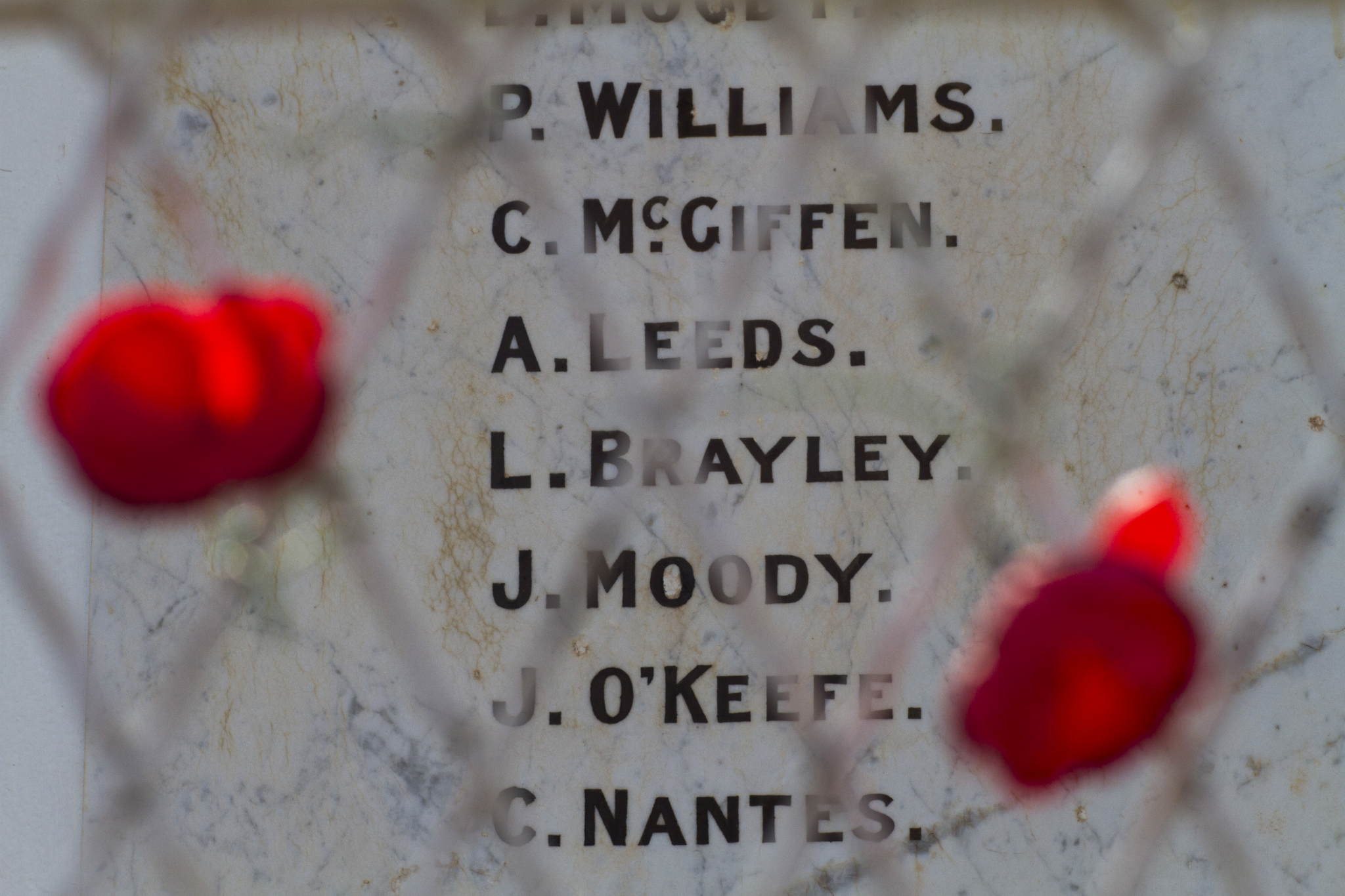 Memorial Wyandra, QLD.