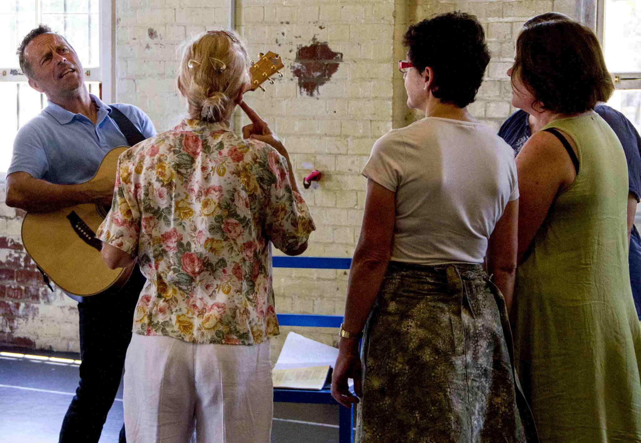 DUST Rehearsals in Brisbane 3 Nov 2013