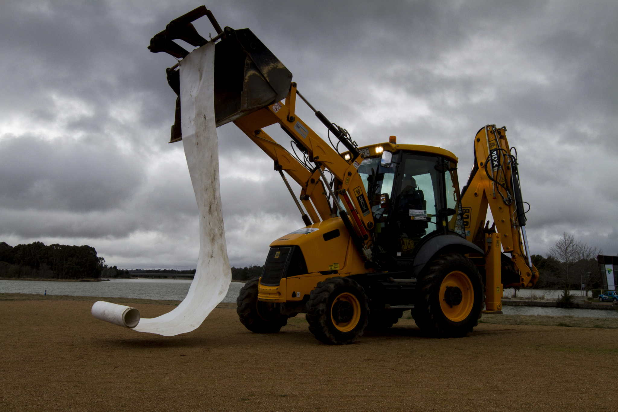 One River 2013: Unravelling the Maranoa. Artist: Jude Roberts.